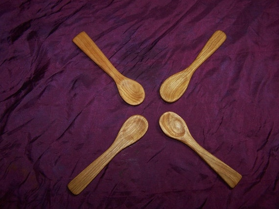 Wee Wooden Baby and Toddler Spoons