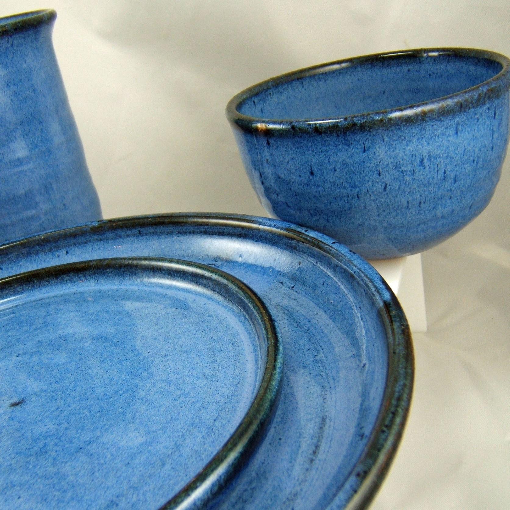 Reserved For Avery Kathryn Stoneware Plates And Bowls