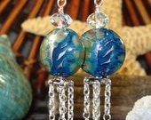 Exotica SRA Lampwork Earrings SALE