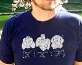 Wise Robots Men's T-shirt - Robot Shirt, Programmer Shirt - Gifts for Engineers, Geek Shirt