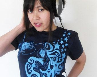 Astronaut Rapunzel Women's T-shirt - Astronaut Shirt, Music Shirt - Space Station Rapunzel