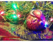 Meatspider Christmas Jack O Lantern Halloween Ornament v160