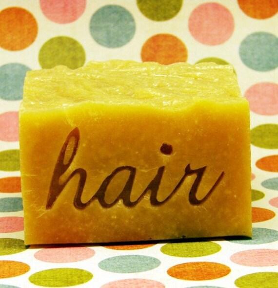 Hair Resin Cast Stamp Ala John