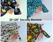 Wholesale Set of 8 - 20x20 Baby Blankets