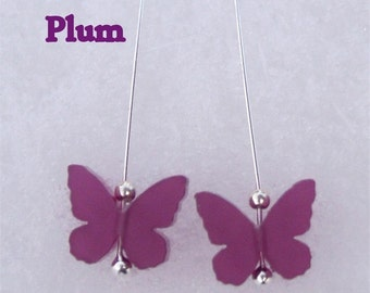 Butterfly earrings in various new colours
