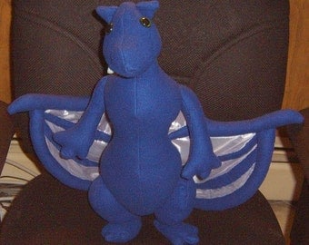 Andrew, young dragon plush
