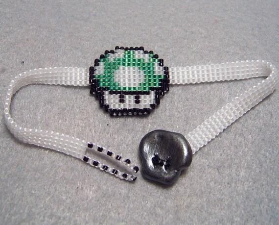 Double-Sided Mushroom Bracelet
