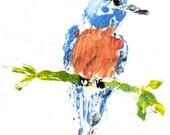 inkblot birdy