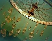 customizable bicycle chandelier