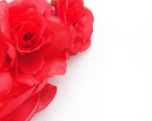Red Rose Passionate Hair Adornment
