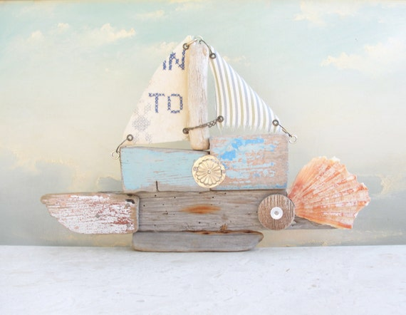 Where are You Going To - Driftwood Boat