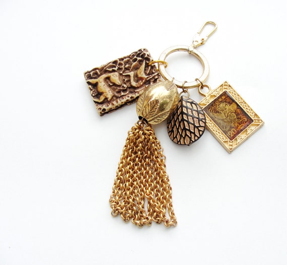 Memories of Japan Keychain / Bag Ring