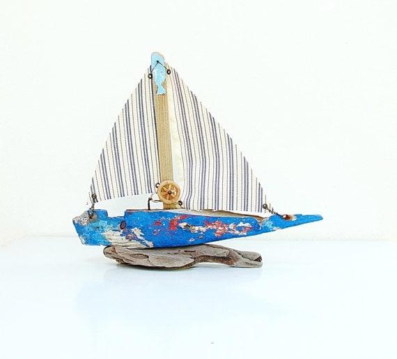 Let's Drift Away - Driftwood Boat