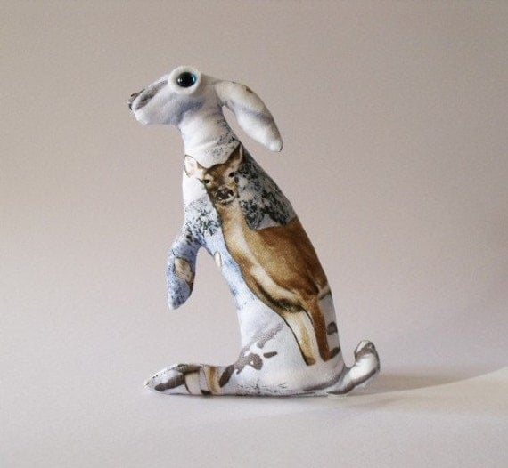 Baby Hare Lapteva          Soft Sculpture