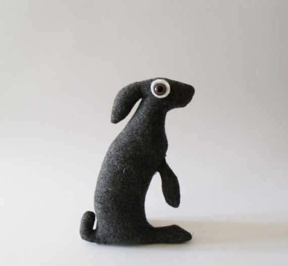 RESERVED  Baby Hare Hermes          Soft Sculpture     who loves to bake and potter about the kitchen