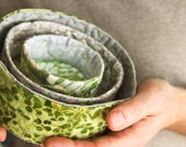 nesting bowls - frog pond and birches
