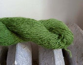 Upcycled Cashmere Fingering Weight Yarn, Green