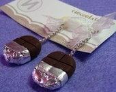 Sweet like chocolate earrings