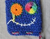 Wash mit Monster Scrubbie, blue kid sized