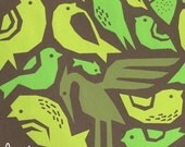 bird tree limited edition print - chocolate