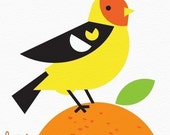 western tanager limited edition print