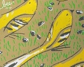 goldfinches limited edition print