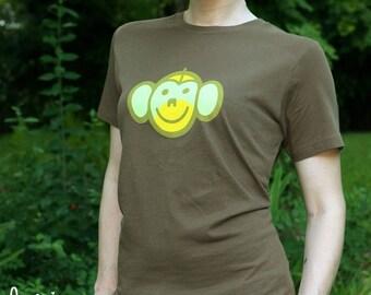 monkey bee-tee-shirt