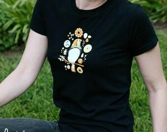 zebra finch bee-tee-shirt