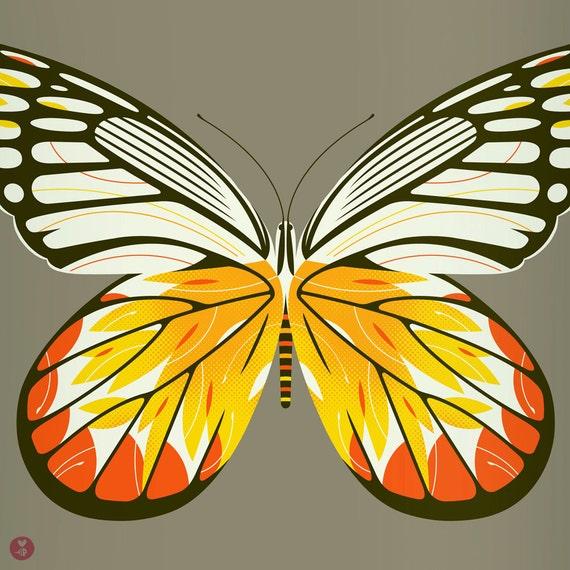 jezebel butterfly limited edition print