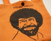 Upcycled Bob Ross Tshirt Purse