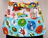 Celebrate Seuss  Zipper/Key Clasp Vendor Apron