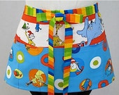 Dr. Seuss Zipper/Key Clasp Vendor Apron