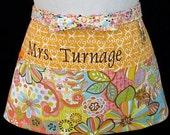 Apron Embroidery Personalization