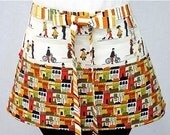 Town and Country Zipper/Key Clasp Vendor Apron