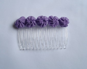 Hair Comb Lilac Yo Yo's