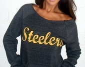 YOUR TEAM Wide Shoulder Girly Sweatshirt by Firedaughter