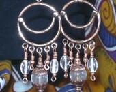 Crescent Moon Dancer Earrings