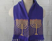 Childs Hanukkah Scarf