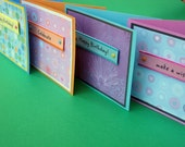 4 Card Set - Birthday Wishes at Elephant Dance
