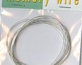 oval memory wire  silver plate