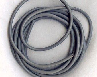4mm GRAY TUBING  6 FEET
