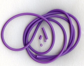 4mm VIOLET TUBING  6 FEET