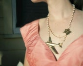Flight to Paris Necklace