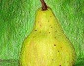 Solitary Pear ACEO