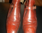 Vintage 1970s brown Florsheim Mod boots size 7 1/2 D for Men