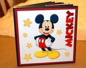 Mickey Mouse (Disney) 8x8 premade scrapbook