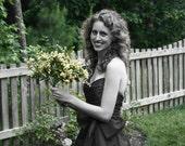 Gigi Strapless Wrap Dress - In Your Size - Silk