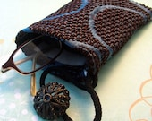 Shades Glasses Case Pouch --- handmade