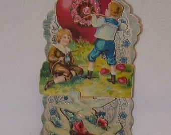 Victorian Valentine  Wonderful Condition