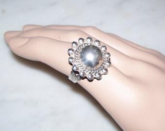 1920's Navajo Sterling Silver Ring Ajustable Ring